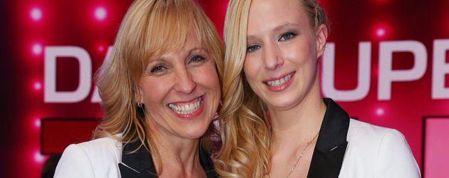 Janina Skurt und Heike Mundt beim Supertalent