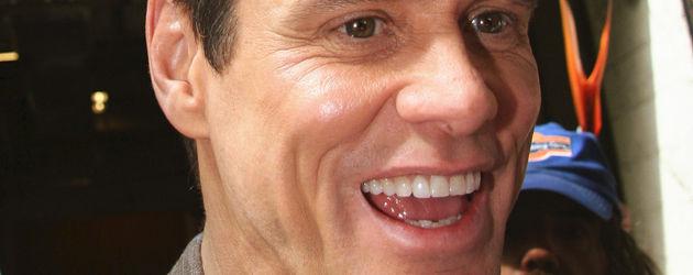 Jim Carrey laucht