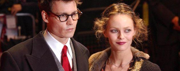 Johnny Depp im Harry-Potter-Style und Vanessa Paradis