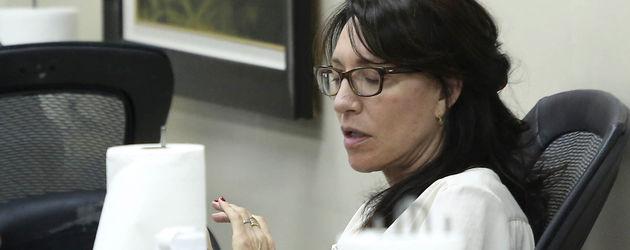 Katey Sagal mit Brille