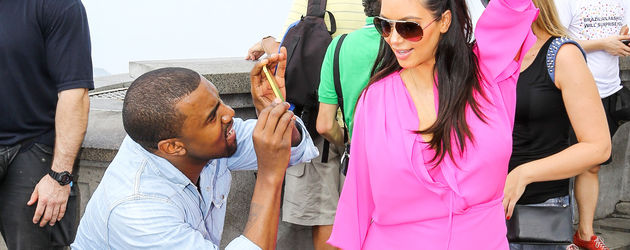 Kim hat Spaß mit Kanye