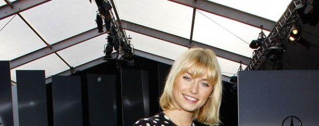 Lena Gercke auf der Fashion Week Berlin