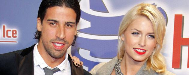 Lena Gercke und Sami Khedira bei Holiday on Ice