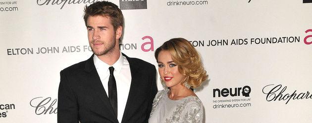 Liam und Miley bei Elton John