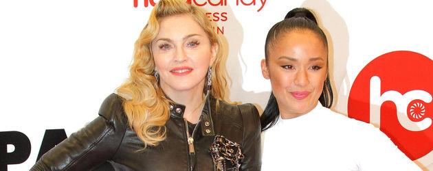 Madonna mit Nicole Winhoffer