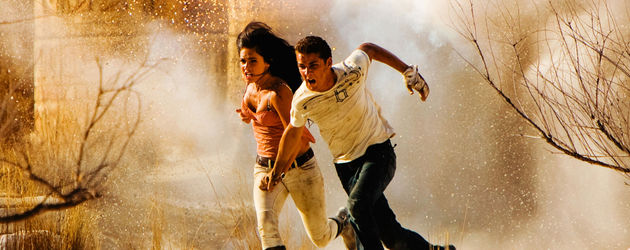Megan Fox & Shia LaBeouf bei Transformers 2