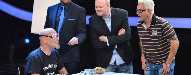 Mundstuhl und Stefan Raab