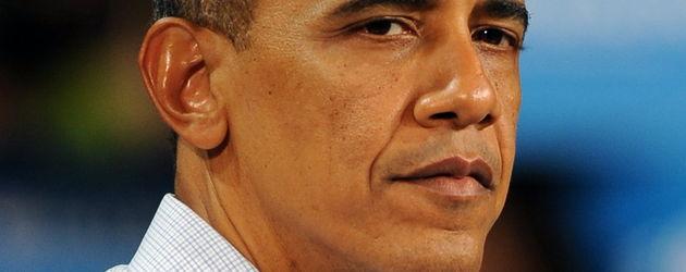 Obama im weißen Hemd