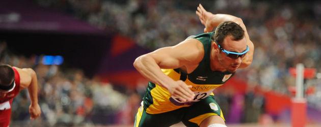 Oscar Pistorius rennt