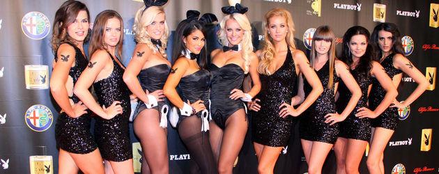 Playmates im Playboy Club