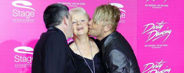 Ross Anthony mit Mama und Mann