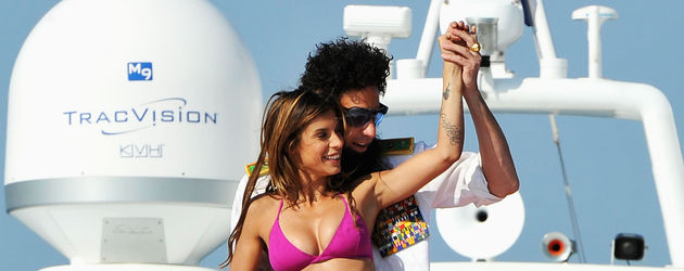 Sacha Baron Cohen mit Elisabetta Canalis