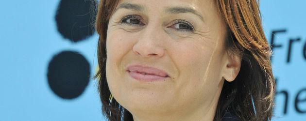 Sandra Maischberger mit Kette