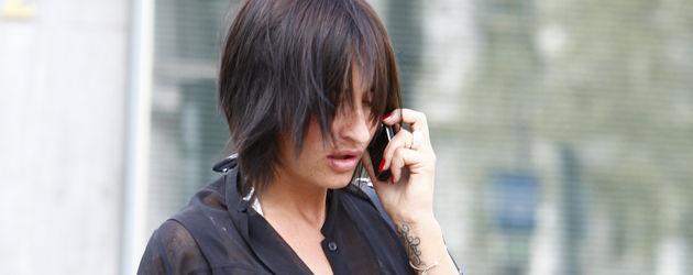 Sarah Connor trägt jetzt schwarze Haare