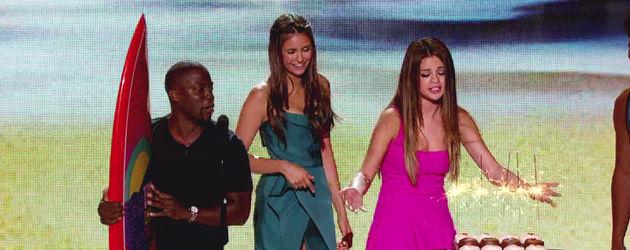 Selena Gomez und Nina Dobrev Teen Choice Awards