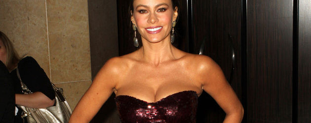 Sofia Vergara im Glitzer-Dress