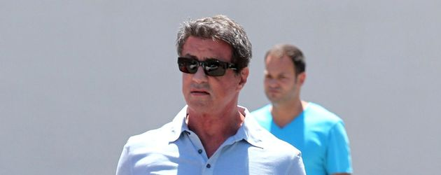 Sylvester Stallone im Freizeit-Look