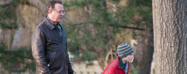 Tom Hanks bei Dreharbeiten für: Extremely Loud and Incredibly Close'