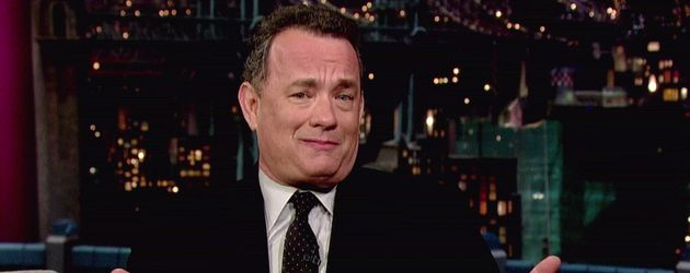 Tom Hanks bei Letterman