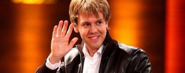 Vettel bei Wetten dass