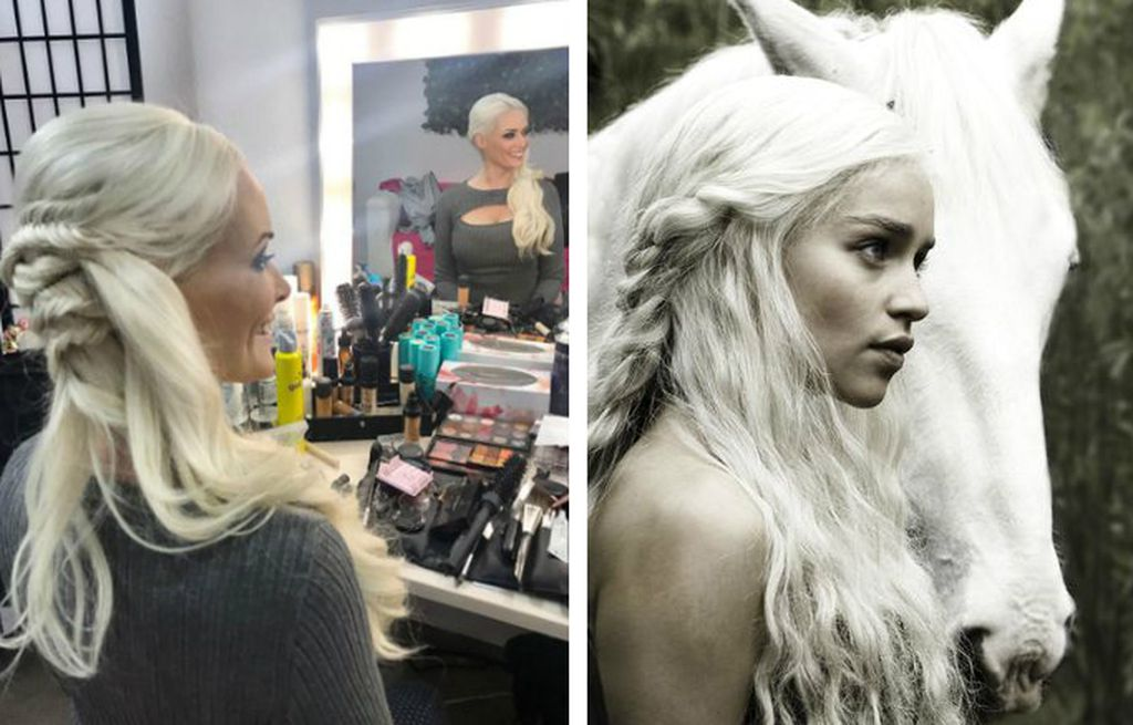 Neue Frisur Dani Katzenberger Sieht Aus Wie Got Daenerys