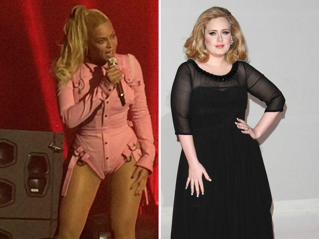Beyonce und Adele Adkins