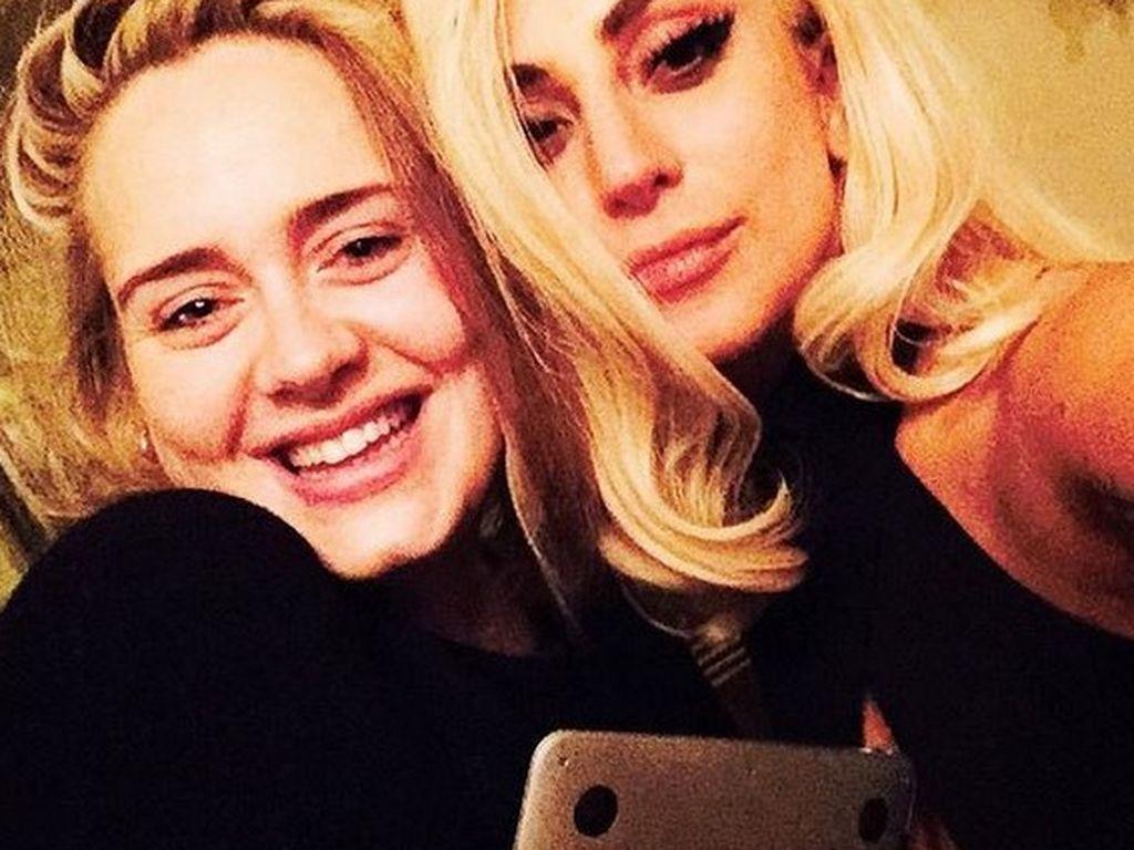 Lady GaGa und Adele Adkins