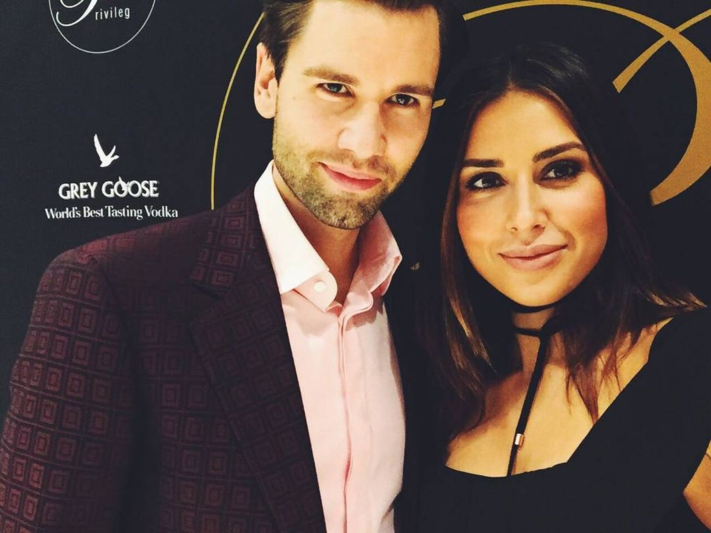 Alexander Keen und Jana Azizi bei der  GETBI-Release-Party