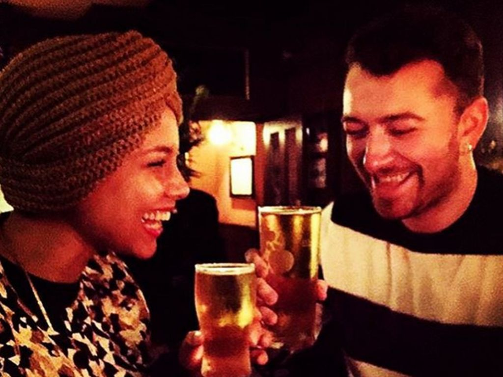 Alicia Keys und Sam Smith