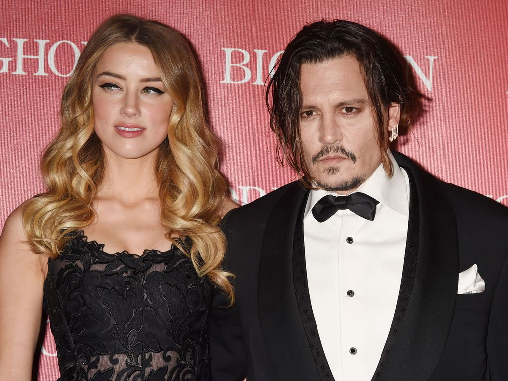 Amber Heard und Johnny Depp bei Palm Springs International Film Festival