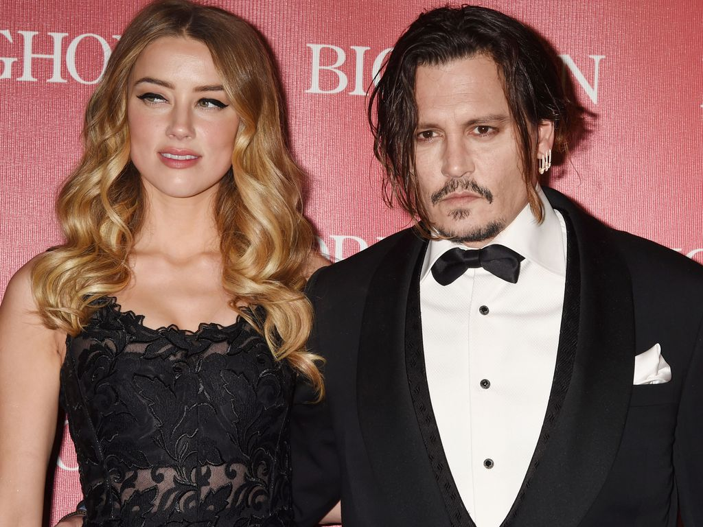 Amber Heard und Johnny Depp beim Palm-Springs-Film-Festival