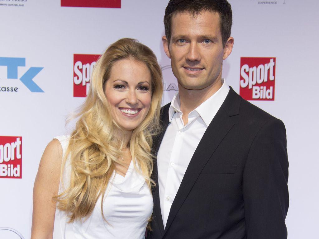Andrea Kaiser und Sébastien Ogier bei den Sport Bild Awards