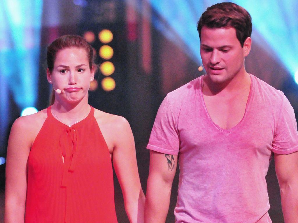 """Angelina Heger und Rocco Stark bei """"Das Sommerhaus der Stars"""""""