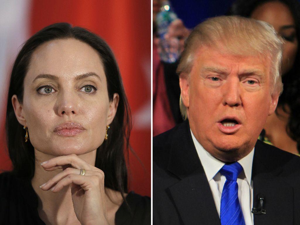 Brad Pitt wirft Angelina Jolies Sachen aus der Villa