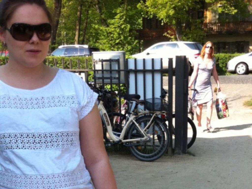 Angelina Posth während ihrer zweiten Schwangerschaft