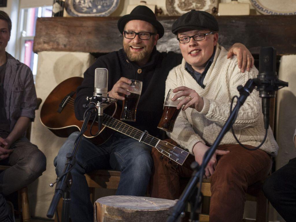 Angelo Kelly und Gregor Meyle