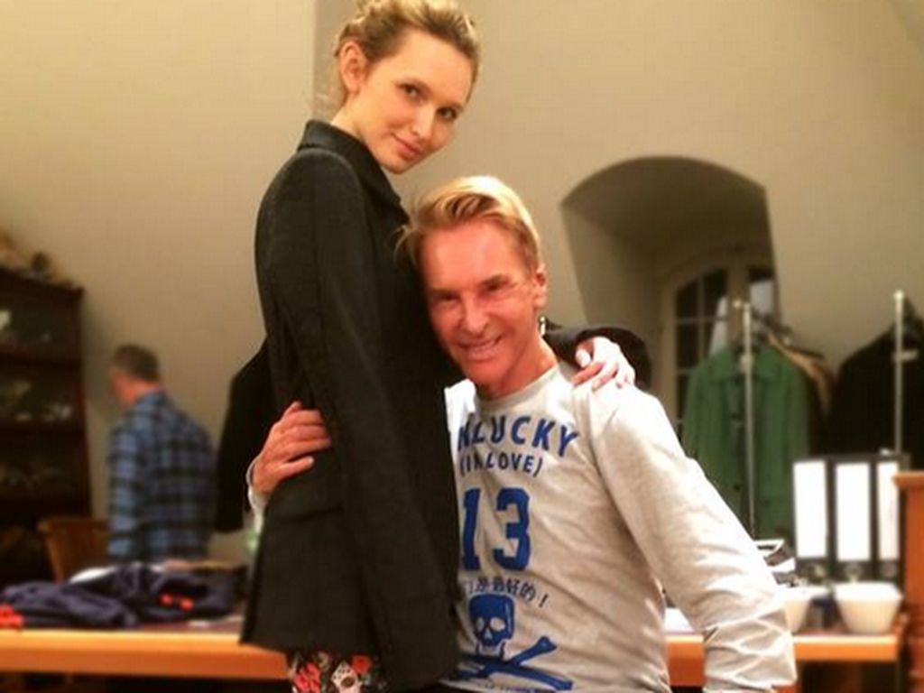 Wolfgang Joop und Anna Wilken
