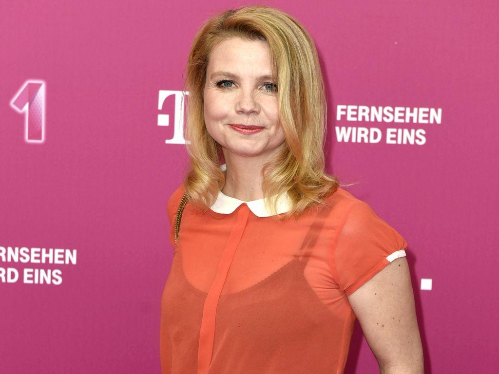 Annette Frier bei der Ankunft zur Telekom EntertainTV Night in Berlin