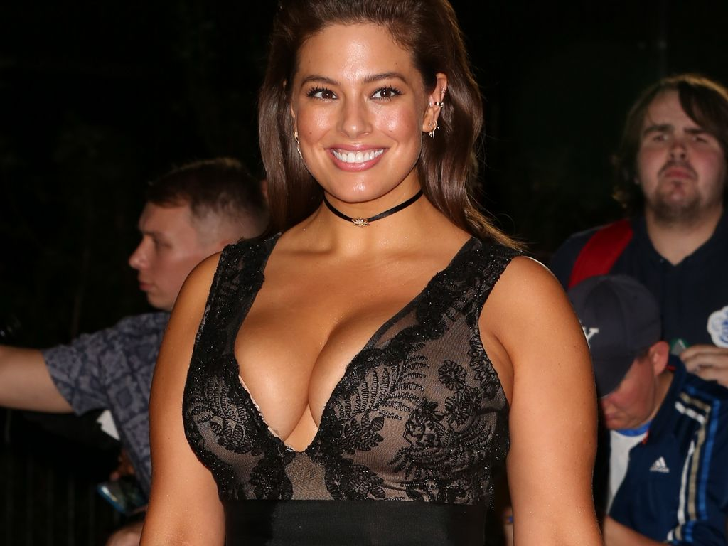 Ashley Graham in London