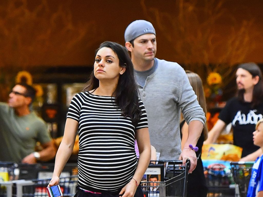 Ashton Kutcher und Mila Kunis beim Shoppen in L.A.