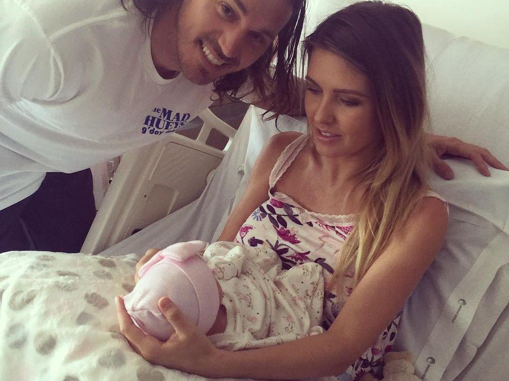 Audrina Patridge mit ihrer Familie