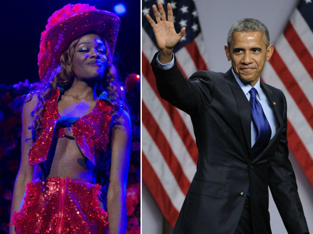 Barack Obama und Azealia Banks