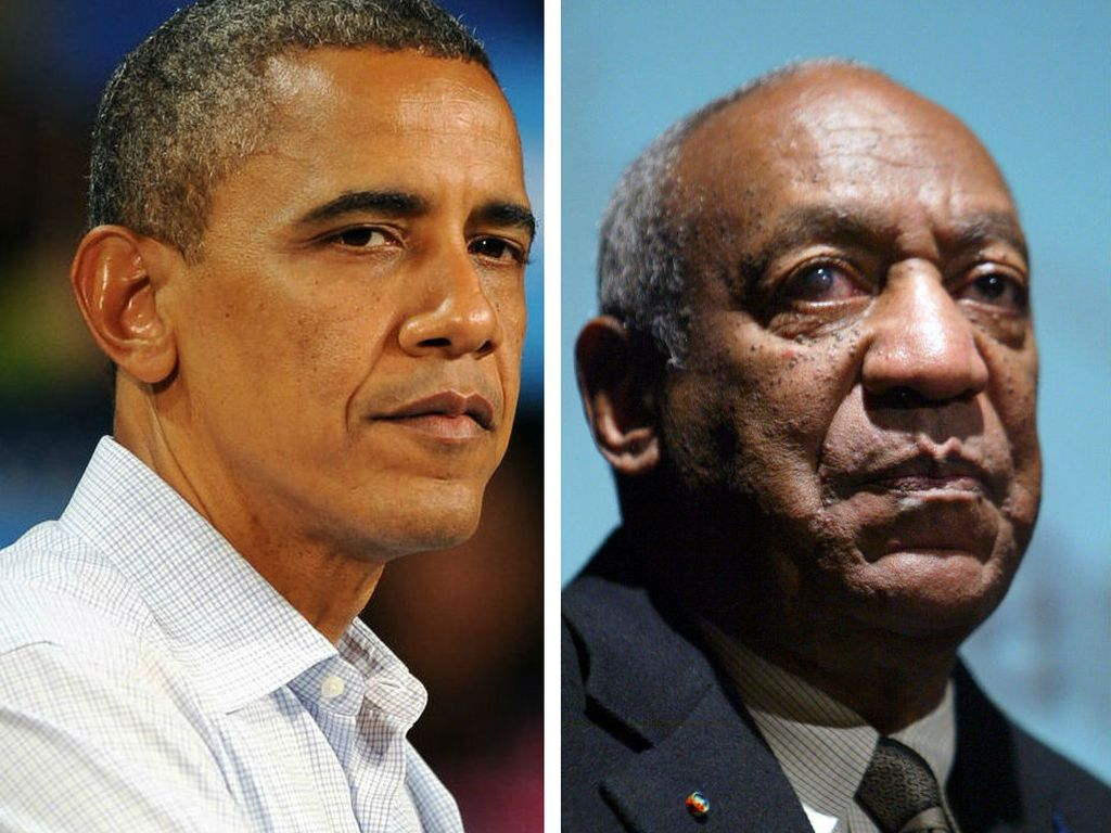 Barack Obama und Bill Cosby