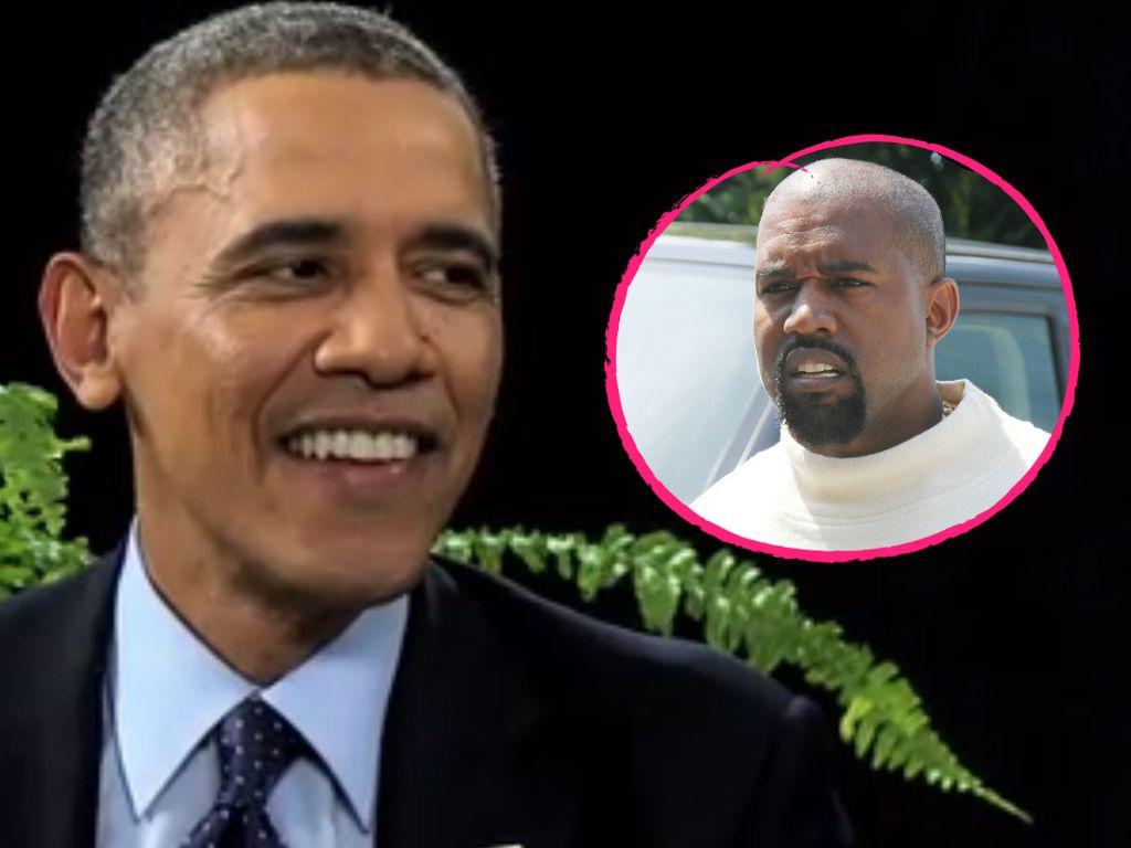 Kanye West und Barack Obama
