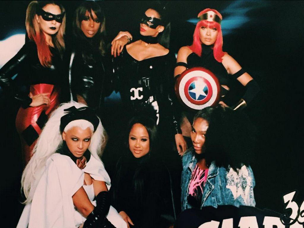 Beyonce, Ciara, Kelly Rowland und Serena Williams