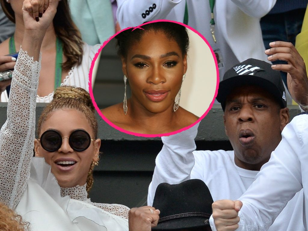 Beyoncé, Serena Williams und Jay-Z