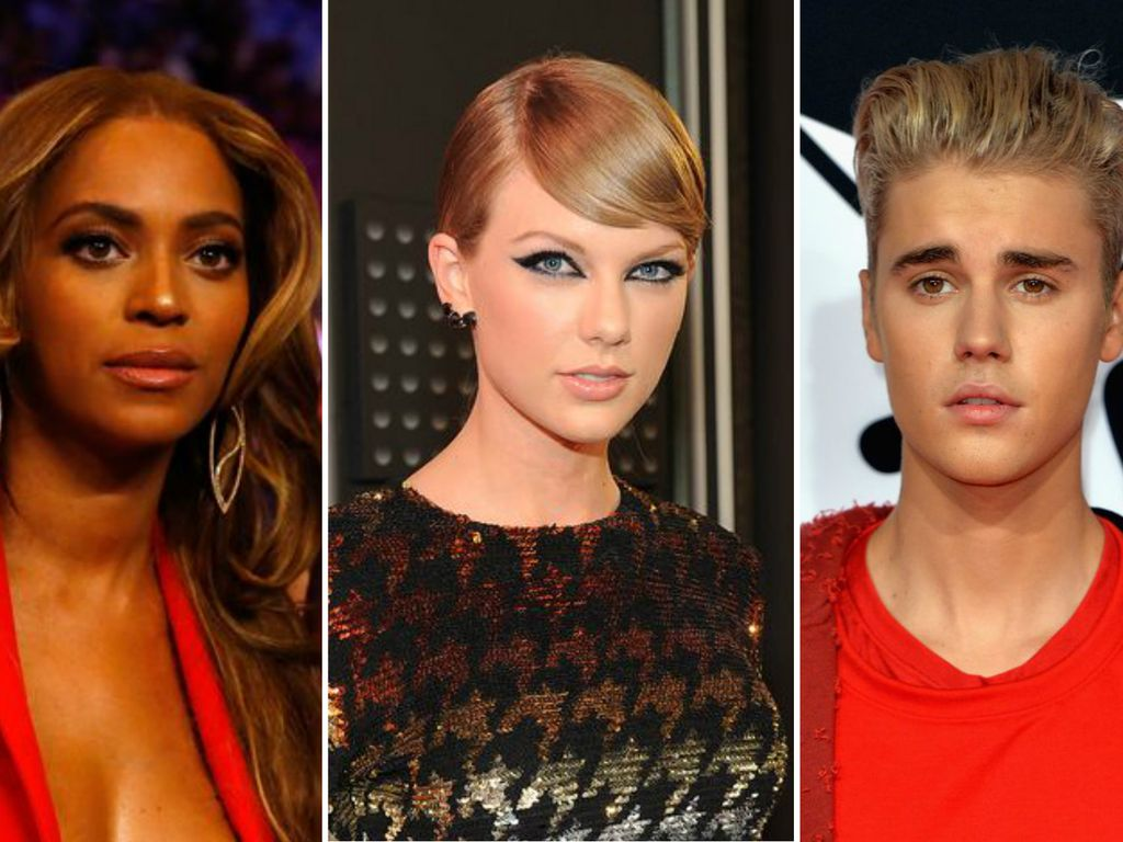 Taylor Swift, Justin Bieber und Rita Ora