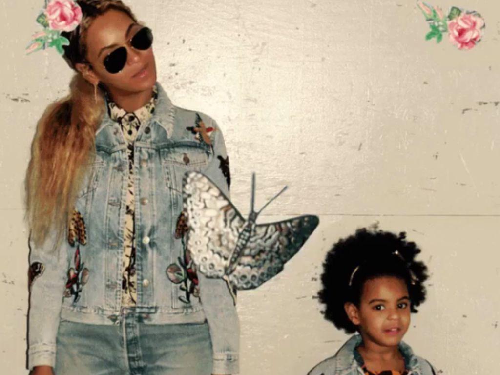 Beyoncé Knowles und Blue Ivy Carter