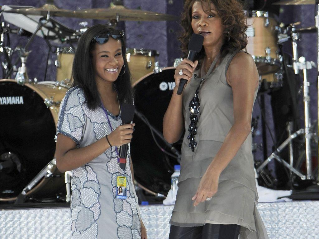 Bobbi Kristina und Whitney Houston