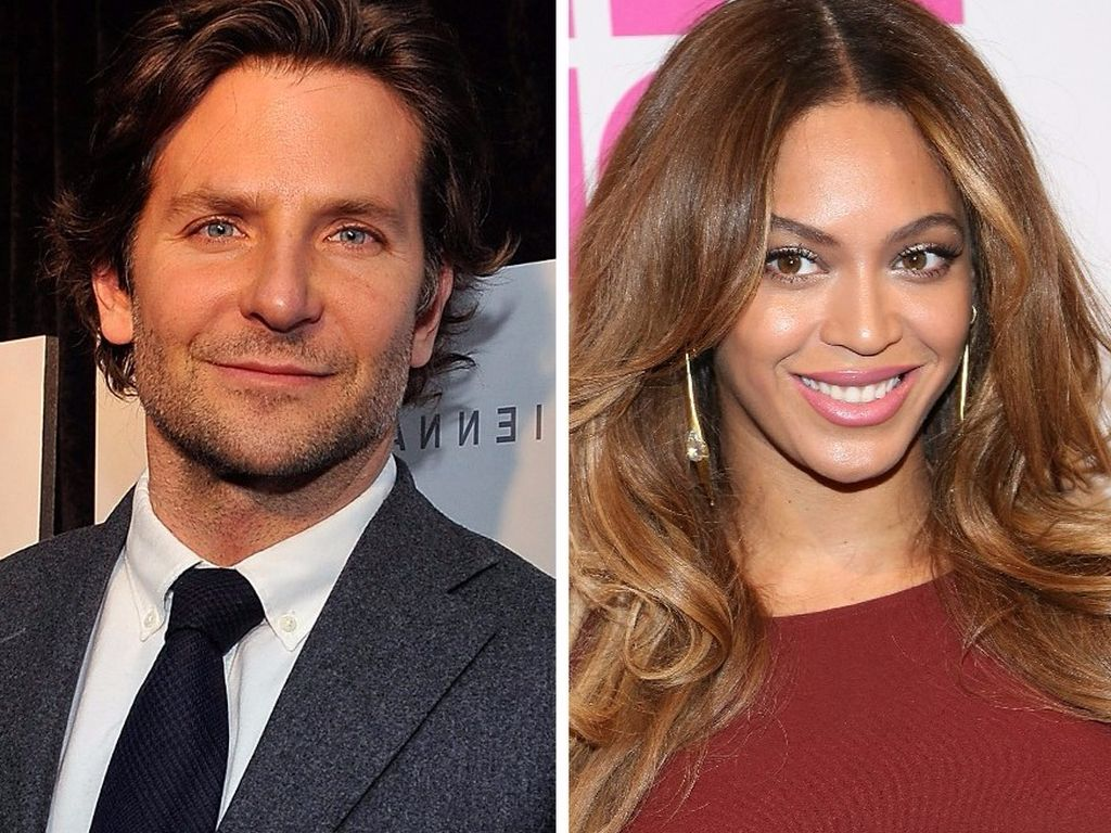 Beyonce und Bradley Cooper